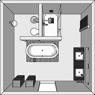 Badezimmer Twand. Fabulous Badezimmer Wandflchen Mit Terra Stone Und ...
