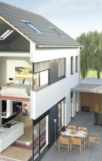 eine l ftungsanlage im neubau richter frenzel. Black Bedroom Furniture Sets. Home Design Ideas