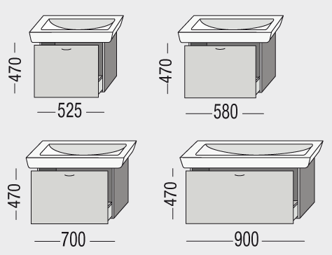 optiset badm bel f r optimalen stauraum richter frenzel. Black Bedroom Furniture Sets. Home Design Ideas