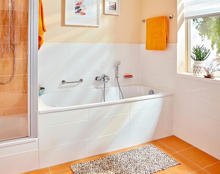 Europa ideal f r kompakte b der richter frenzel for Duschwanne kleines bad