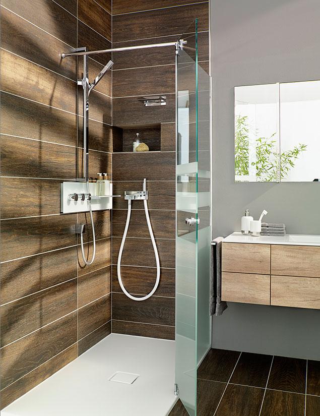 Stage je kleiner das badezimmer umso wichtiger ist for Badezimmer dusche modern